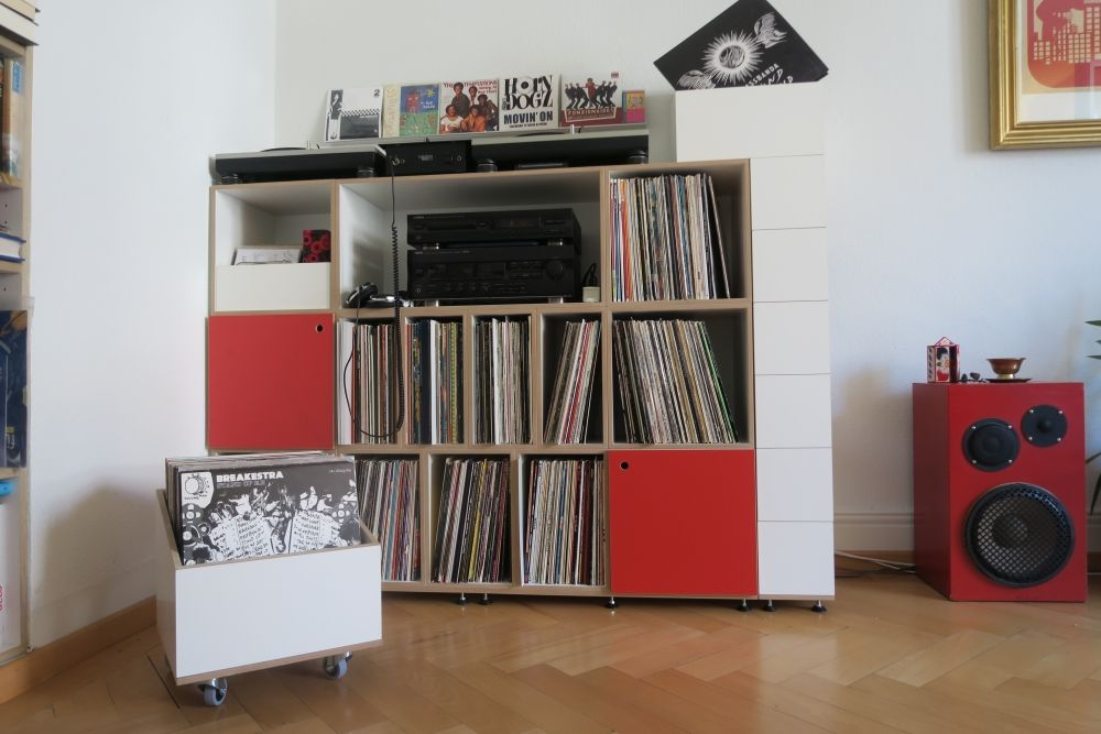 stocubo Vinyl-Regal von DJ Oliphono