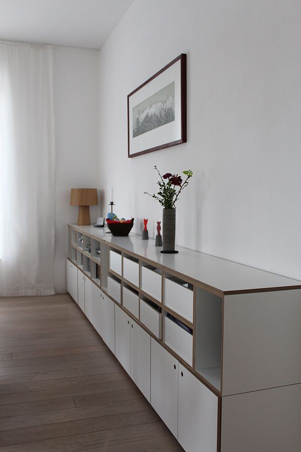 designer sideboard im architektenhaus der stocubo blog. Black Bedroom Furniture Sets. Home Design Ideas